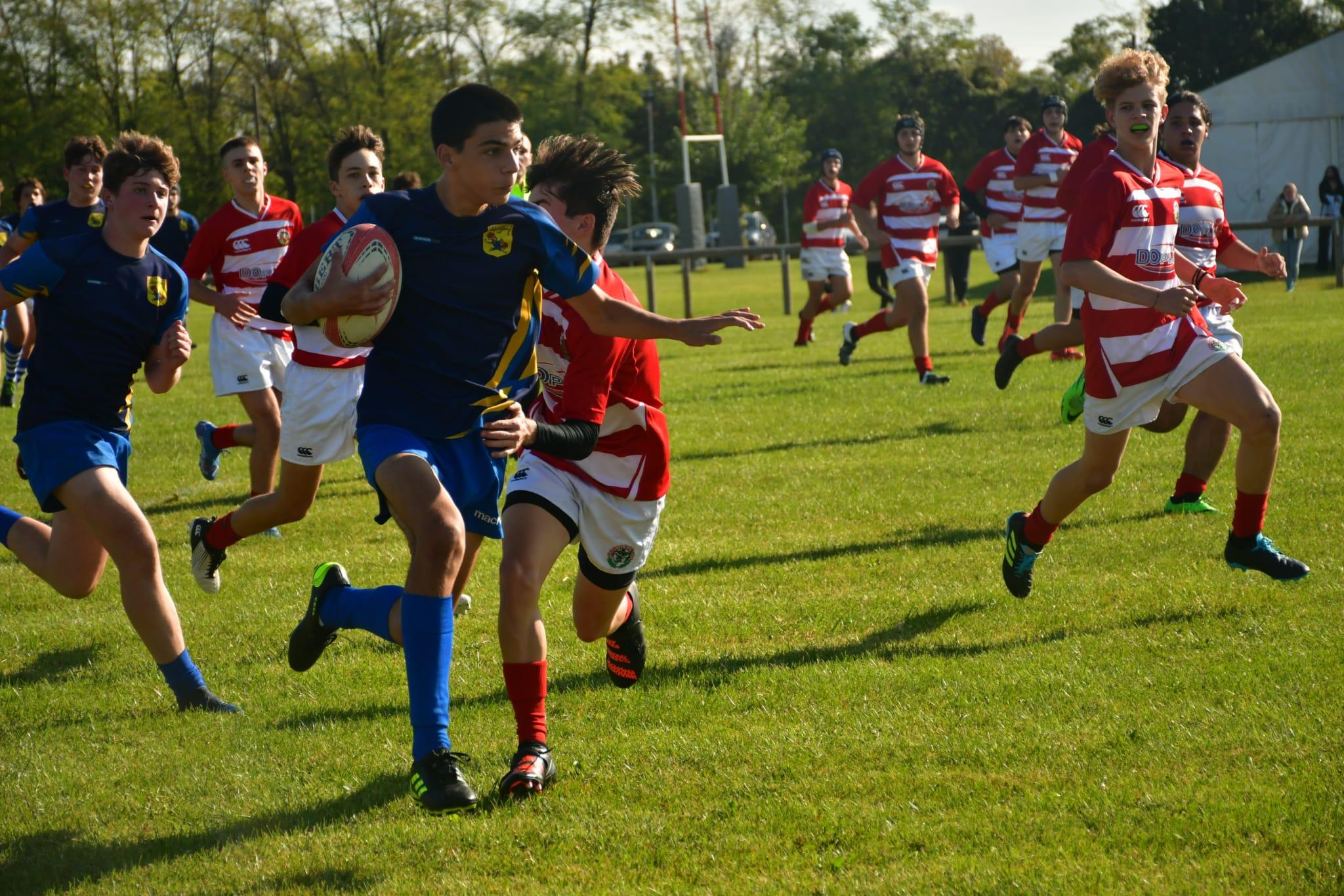 U17 il Casale domina il  rugby Castellana